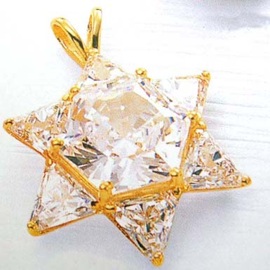 China symbol store wholesale star of david golden pendant for Star of david jewelry wholesale